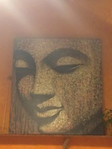 Artwork from restaurant Life Alive, Salem, MA