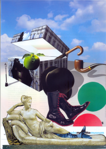 Collage surrealiste